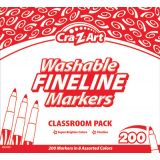Cra-Z-Art® Washable Fine Line Markers Classroom Pack, 200 count