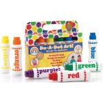 Do-A-Dot Art!® Markers, Rainbow Washable, 6 colors