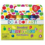 Do-A-Dot Art!® Markers, Scented Juicy Fruits, 6 colors