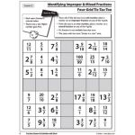 Fraction Games & Activities with Dice