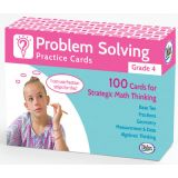 Problem Solving Practice Cards, Grade 4