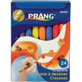 Prang® Soybean Crayons, Regular, 24 colors