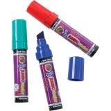 Pacon® Jumbo Markers, 3 Assorted Colors