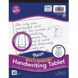 Pacon® Multi-Sensory Handwriting Tablet, Grade 2