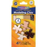 Creativity Street® Modeling Clay, 1 lb. Multicultural Assortment, 4 colors
