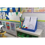 Pacon® Magnetic Whiteboard, Dry Erase, 1-sided, 9