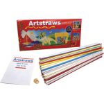 Artstraws® Paper Tubes, 4 mm & 6 mm, Assorted Colors, Pack of 300