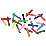 Creativity Street® Square Artist Pastels, 6 Each of 24 Assorted Colors