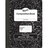 Pacon® Composition Notebook, Quad Rule, 1 cm