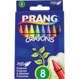 Prang® Soybean Crayons, Regular, 8 colors