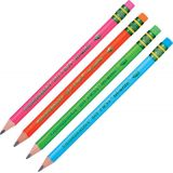 Ticonderoga® My First® Tri-Write™ Wood-Cased Pencils, Neon Assorted, Pack of 12