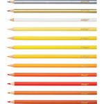 Prang®Colored Pencils, 3.3mm, Sharpened, 72 Colors
