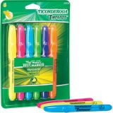 Emphasis Highlighters, Desk Style, Chisel Tip, 6 Assorted Colors