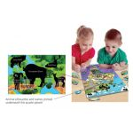 Animal Magnetism® Magnetic Wildlife Map Puzzle, North & South America
