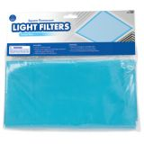 Classroom Light Filters, 2' x 2', Tranquil Blue, Set of 4