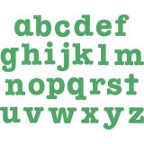 Bigz™ AllStar® SuperStar Alphabet Die Set, 3 1/2 Lowercase Letters