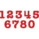 Bigz™ AllStar® SuperStar Numbers Die Set, 3 1/2 Numbers