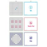 Sensational Math™ How Many? Activity Cards Set of 3 Levels