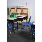 Stackable School Chairs w/Chrome Legs, 14