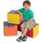 SoftZone® Carry Me Cubes, Child, Set of 4