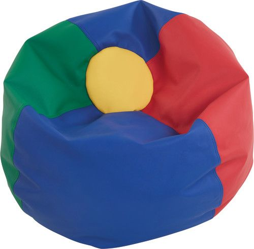 Awesome Softzone Classic Bean Bag Standard 35 Primary Colors Pabps2019 Chair Design Images Pabps2019Com