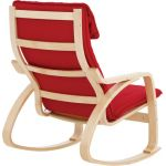 Bentwood Adult Rocking Chair, Red