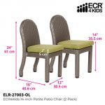 Petite Patio Chair 2-Pack, 14
