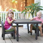 Petite Patio Toddler Table, 18