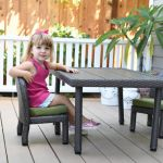 Petite Patio Table with 10