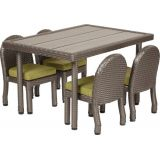 Petite Patio Preschool Table with 12 Chairs