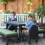 Petite Patio Toddler Table with 10
