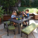 Petite Patio Preschool Table with 12