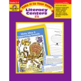 Take It to Your Seat Literacy Centers, Grades 3-4