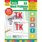 Daily Word Problems Math, Grade 6