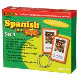 Spanish in a Flash™, Set 1