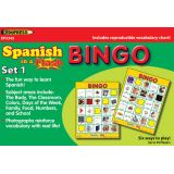 Spanish in a Flash™ Bingo Game Set 1