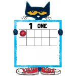 Pete the Cat® Numbers 0-20 Bulletin Board Set