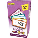 Division Flash Cards, All Facts 0–12
