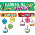 Pete the Cat® Birthdays Are Groovy Mini Bulletin Board Set