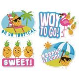 Jumbo Scented Stickers, Pineapple