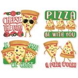 Jumbo Scented Stickers, Pizza