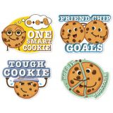 Jumbo Scented Stickers, Chocolate Chip Cookie