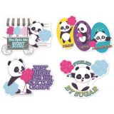 Jumbo Scented Stickers, Cotton Candy