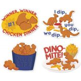 Jumbo Scented Stickers, Chicken Nuggets
