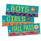 Plaid Attitude Hall Passes, Set of 3