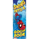 Bookmark - Spiderman Swing Into A Good Book