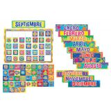 Color My World Spanish Calendar Set