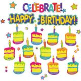 Color My World Happy Birthday Mini Bulletin Board Set