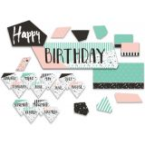 Simply Sassy Birthday Mini Bulletin Board Set