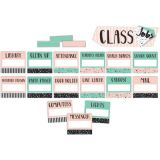 Simply Sassy Class Jobs Mini Bulletin Board Set